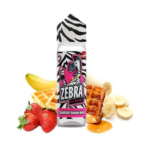 Zebra Juice Dessertz Strawberry Banana Waffle