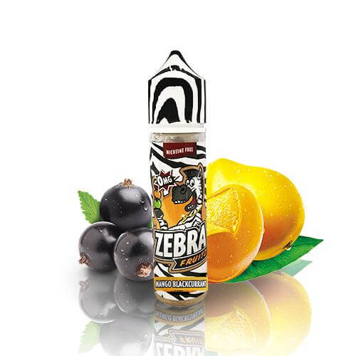 Zebra Juice Fruitz Mango Blackcurrant