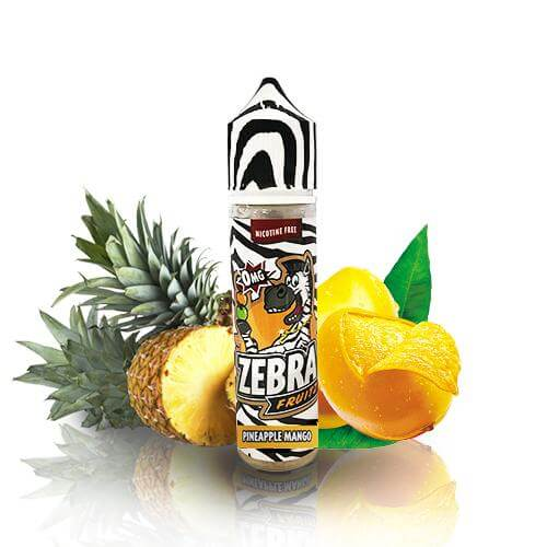 Zebra Juice Fruitz Pineapple Mango 50ml (Shortfill)