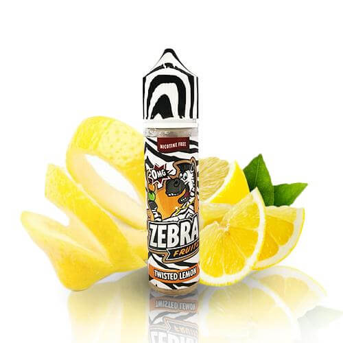 Zebra Juice Fruitz Twisted Lemon 50ml (Shortfill)