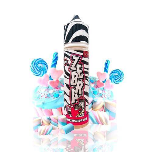 Zebra Juice Marshmallow Cake