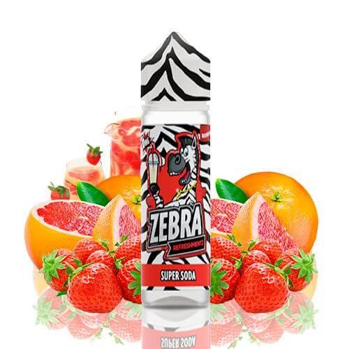 Zebra Juice Refreshmentz Super Soda