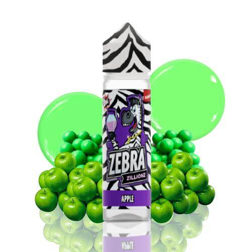 Zebra Juice Zillionz Apple