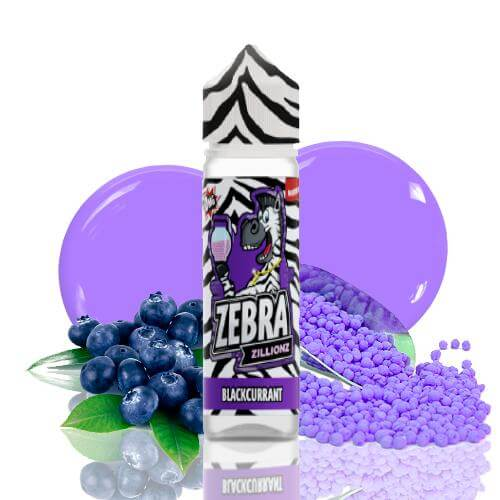 Zebra Juice Zillionz Blackcurrant