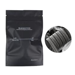 Comprar Rick Vapes - Single Coil 0.20 Full Ni80 Black Edition (Resistencias Artesanales) Pack de 2