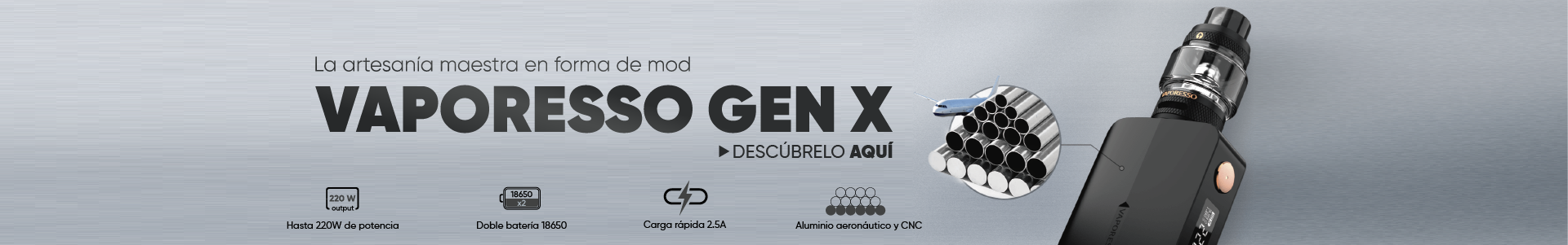Nuevo Gen X de Vaporesso