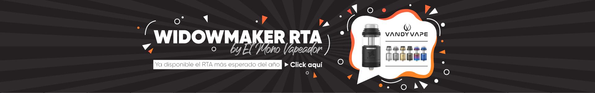Comprar Vandy Vape Widowmaker RTA by El Mono Vapeador Barato